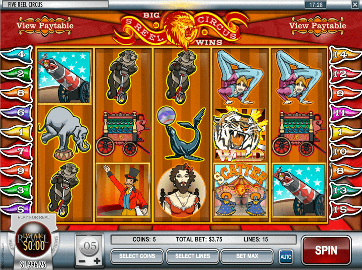Circus free spins 73290