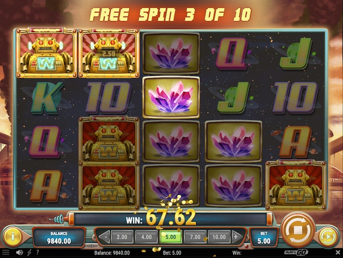 Free spins 15577