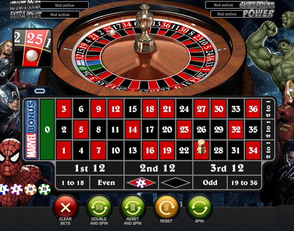 Roulette payout casino 60663