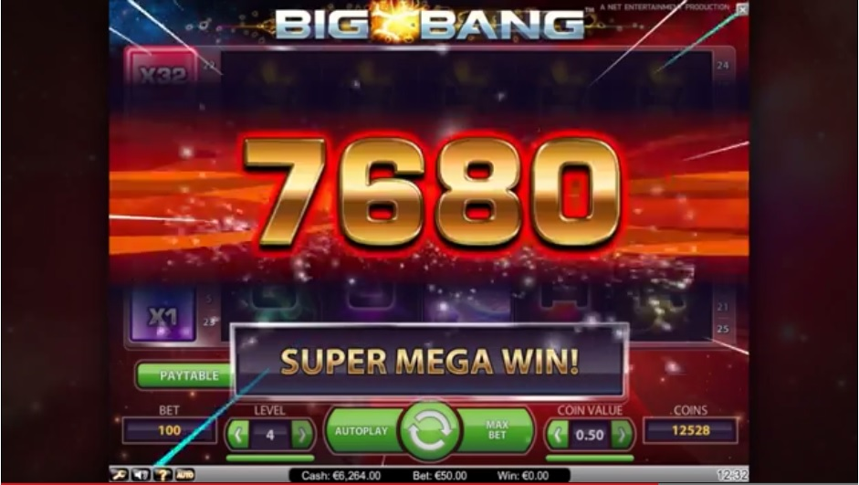 Big Bang slot 36550