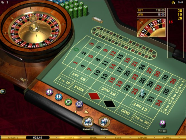 Roulette payout 79546