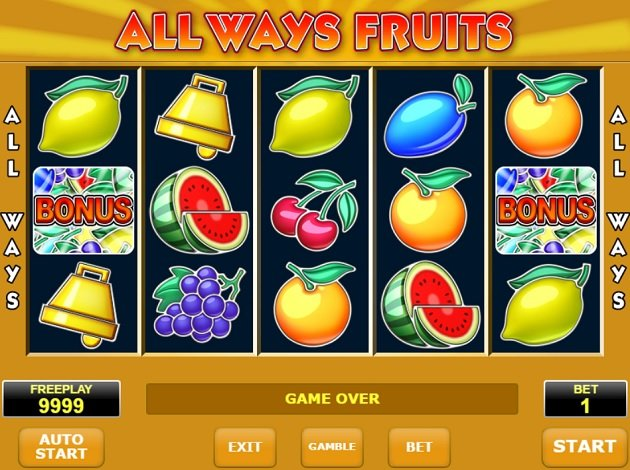 Fruit game pengar 70997