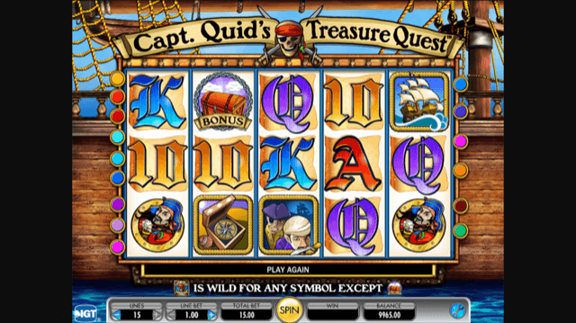 Captain Treasure slot 33834