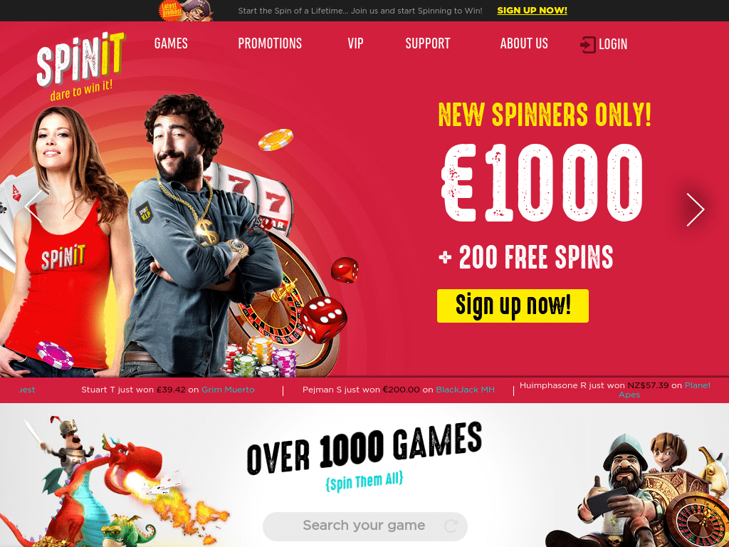 Free spins 70368